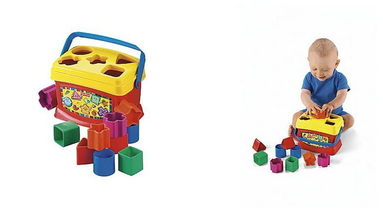 Brilliant Basics by Fisher-Price Baby's First Blocks $4.99