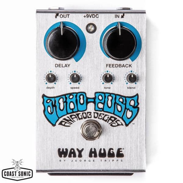 Way Huge Saffron Squeeze $75 and Echo Puss $85 Guitar Effects Pedal