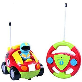 Cartoon R/C Race Car Radio Control Toy for Toddlers $16.94
