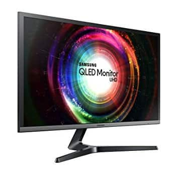 Samsung LC32HG70QQNXZA C32HG70 32-Inch HDR QLED Curved Gaming Monitor (144Hz / 1ms)  $499.99 (Back in stock)