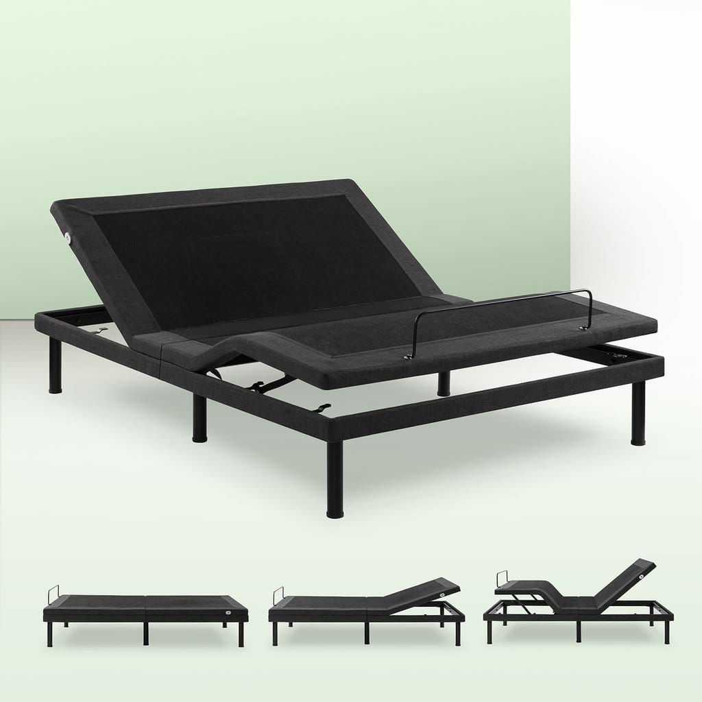 Smart.Bed Deluxe Adjustable Bed Frame w/ Built-in USB Port: Queen $306