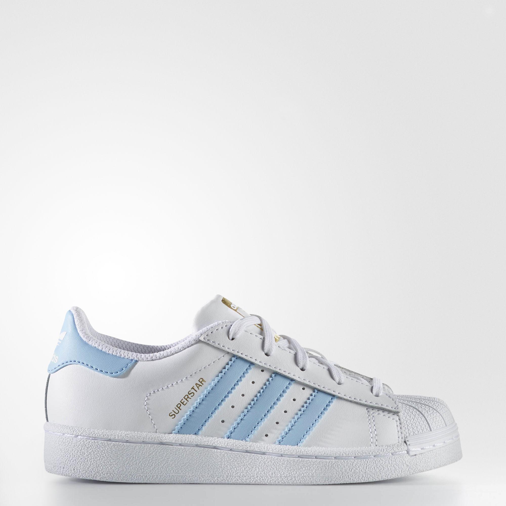 Adidas kids superstar running white ftw - $13.75