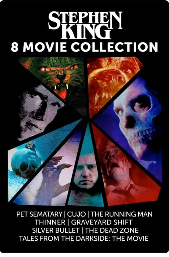Stephen King 8 Movie Collection DIGITAL on iTunes $19.99