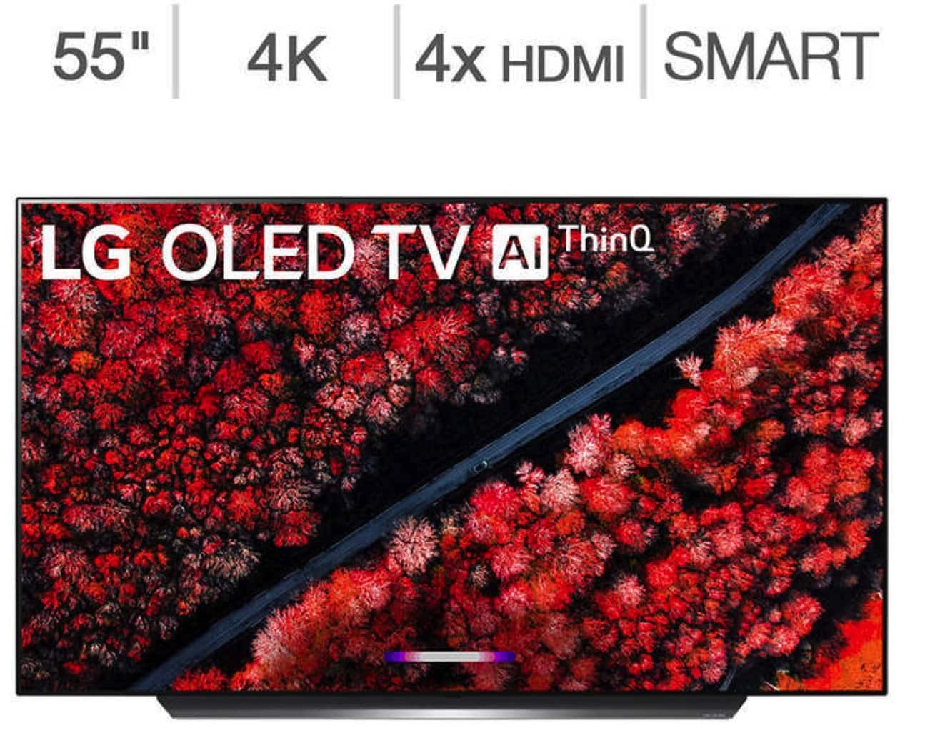 "LG 55"" Class (54.6"" Diag.) 4K Ultra HD OLED TV Model  OLED55C9AUA + Free S&H + 3 Year Square Trade Warranty free $1574.99"