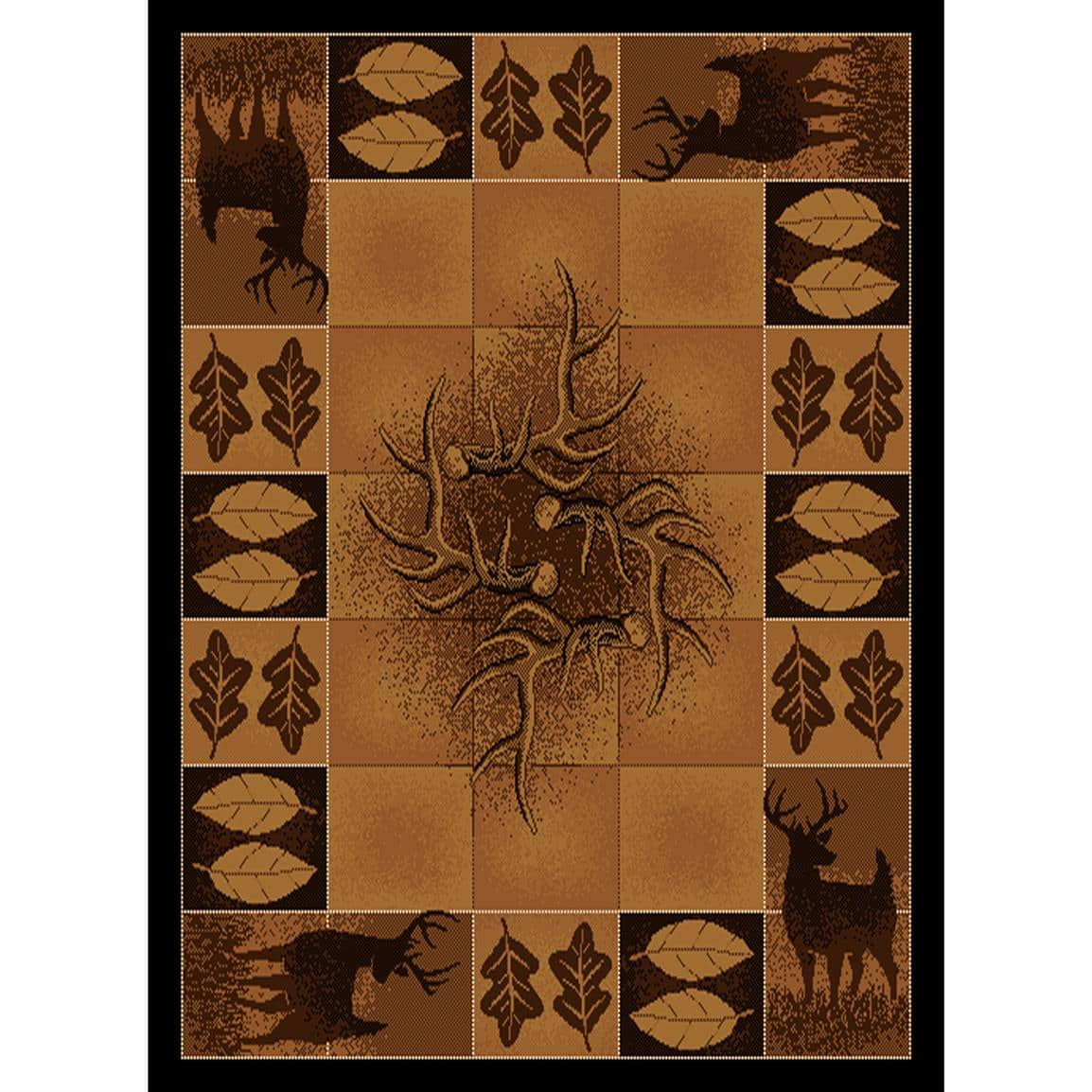 Large 5x7 Area Rustic Lodge Rugs Cabela S 49 99 Fs