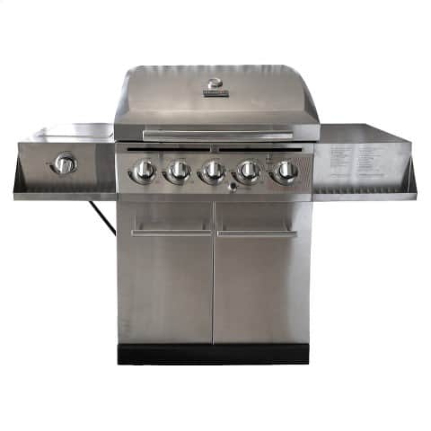 Char-Broil® 5 Burner Stainless Steel  Gas Grill with Cabinets on clearance only in stores @Target $89.99 -YMMV