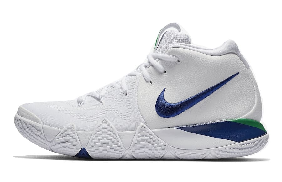online store 8d067 bb215 Nike Kyrie 4 White Deep Royal Blue $68 - Slickdeals.net