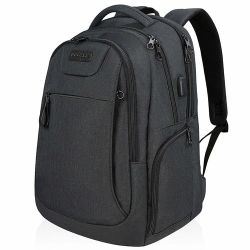 Laptop Backpack for 15.6-17.3 Inch Laptop Anti-Theft Large Computer Backpack with USB Charging Port Water-Repellent $22.39