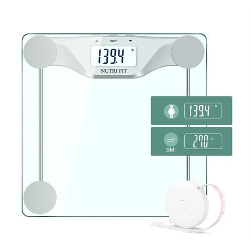 Digital Body Weight Bathroom Scale BMI, Large Backlight Display $14.44