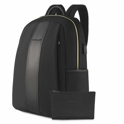 KROSER Laptop Backpack 15.6 Inch Water-Repellent Nylon with USB Charging Port $20.99