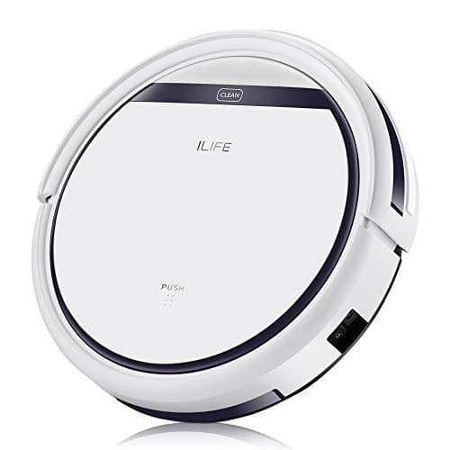 ILIFE V3s Pro Robotic Vacuum Pet Hair Care, Slim Design, Auto Charge, Daily Planning, Hard Floor and Low Pile Carpet $118.99