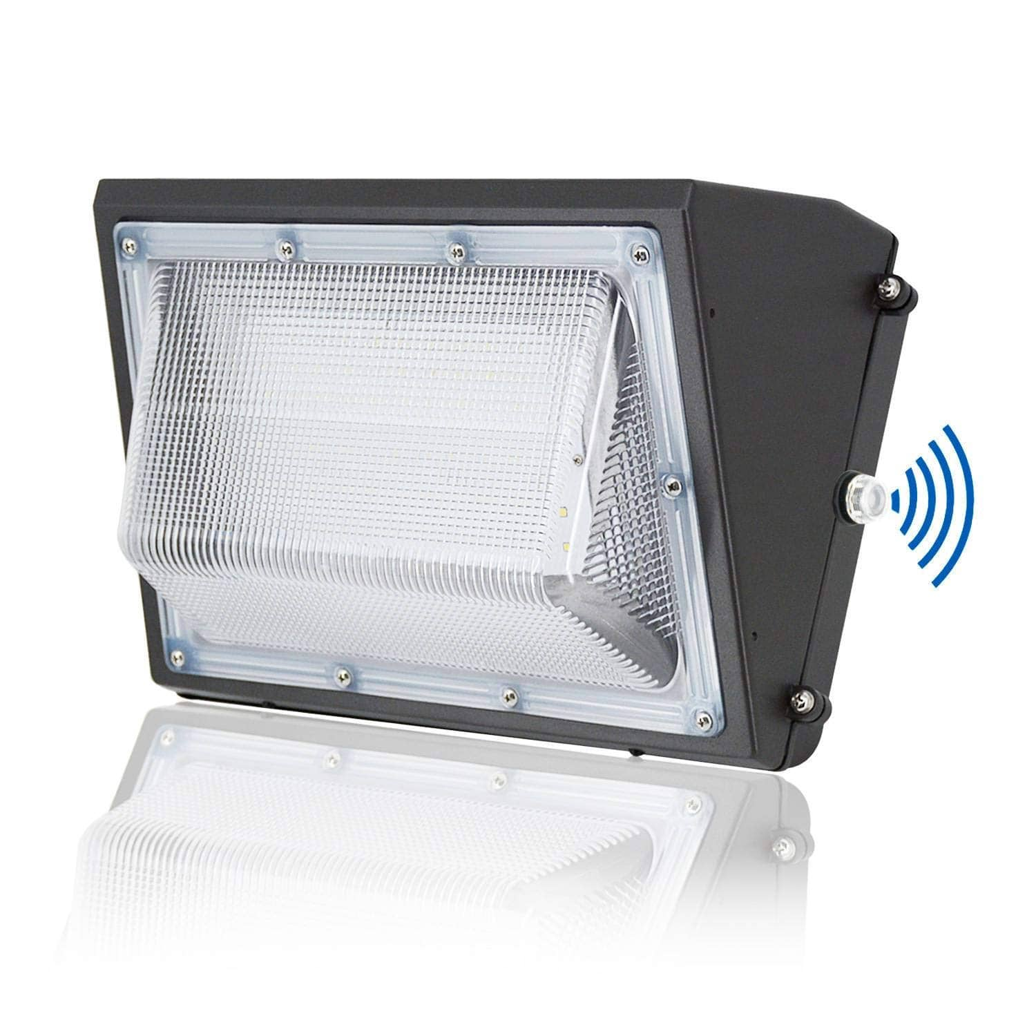 60W LED Security Wall Pack Light, Dusk-to-dawn Outdoor Flood Yard Lighting $48.74