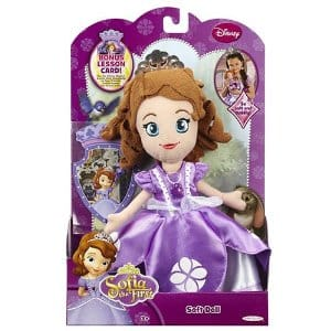 Sofia The First Soft Doll 10 In FREE