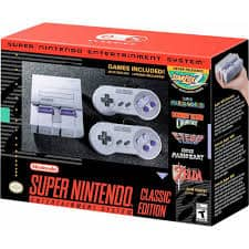 MILITARY ONLY Nintendo Super NES Classic $79.95 - AAFES