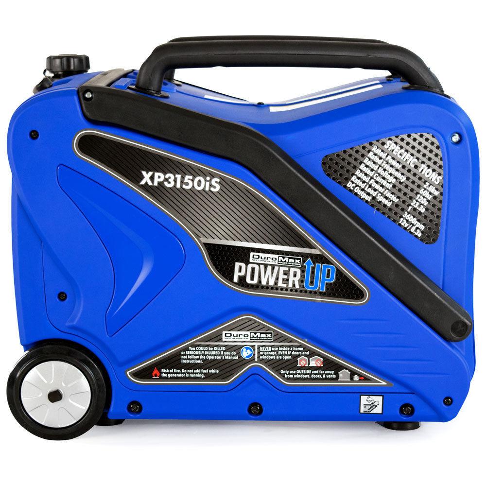 DuroMax XP3150iS 3,150 Watt Gas Powered Digital Inverter Portable Generator $449.99