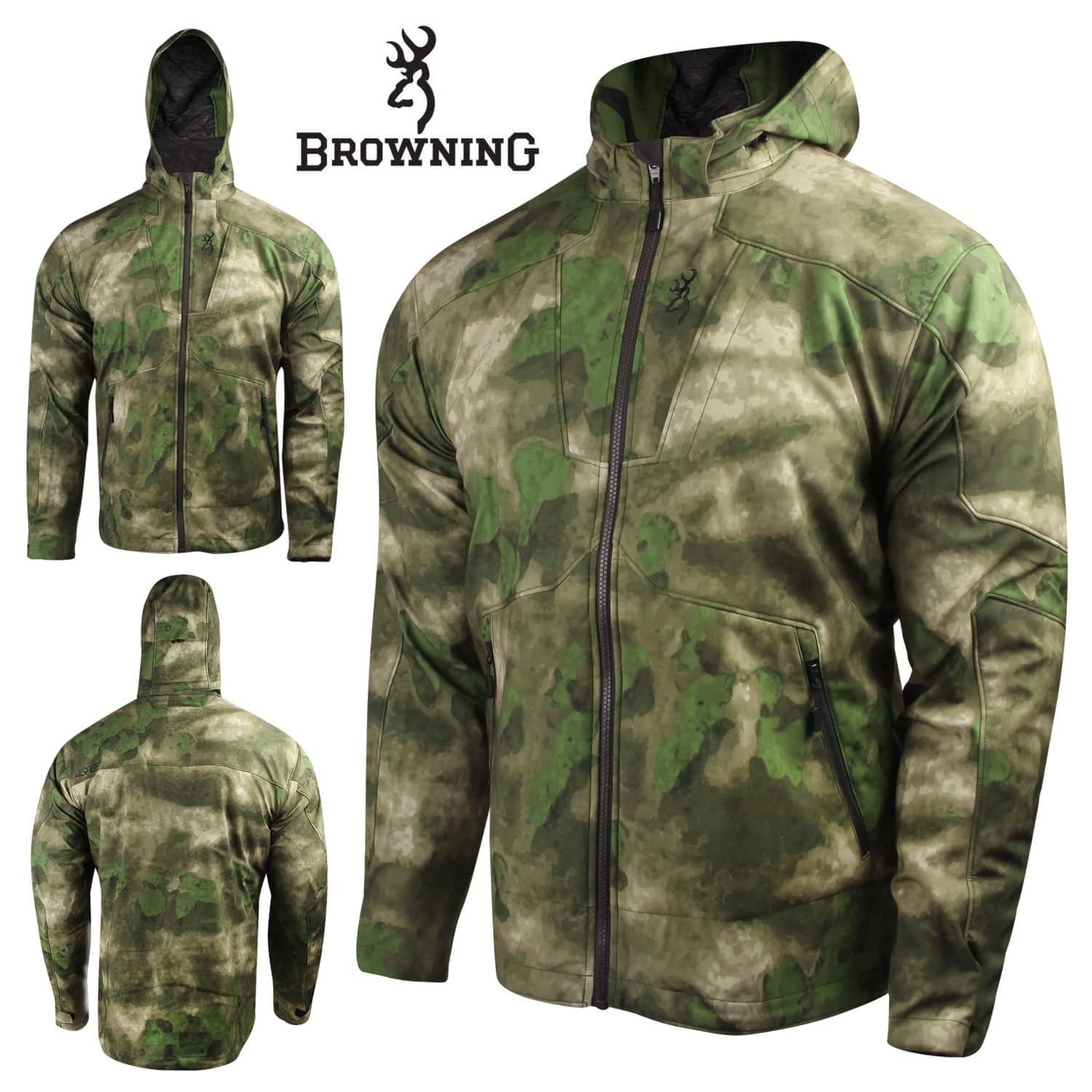 Browning Hell's Canyon Speed Hellfire Hunting Jacket (A-TACS FG) $70 + Free Shipping