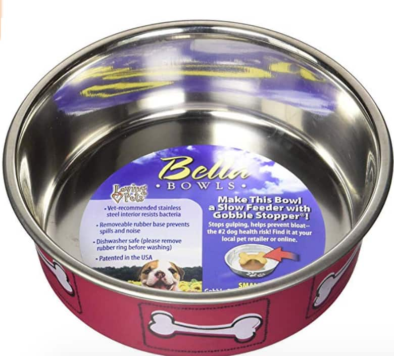 Small pet food bowls - $1.23 on Amazon