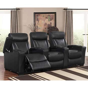 Etonnant Home Theater Seating Costco   3 Chair (members Only) $1999.99 (after  $300 500 Off)