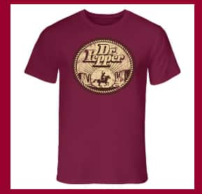 Free Dr. Pepper T-shirts    --  pickyourpepper2017.com PURCHASE REQUIRED