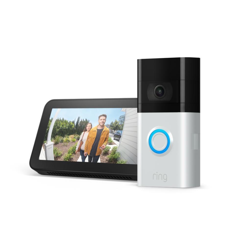 Ring Doorbell 3/3 plus/pro + Free Echo Show 5 - $149/$179/$189