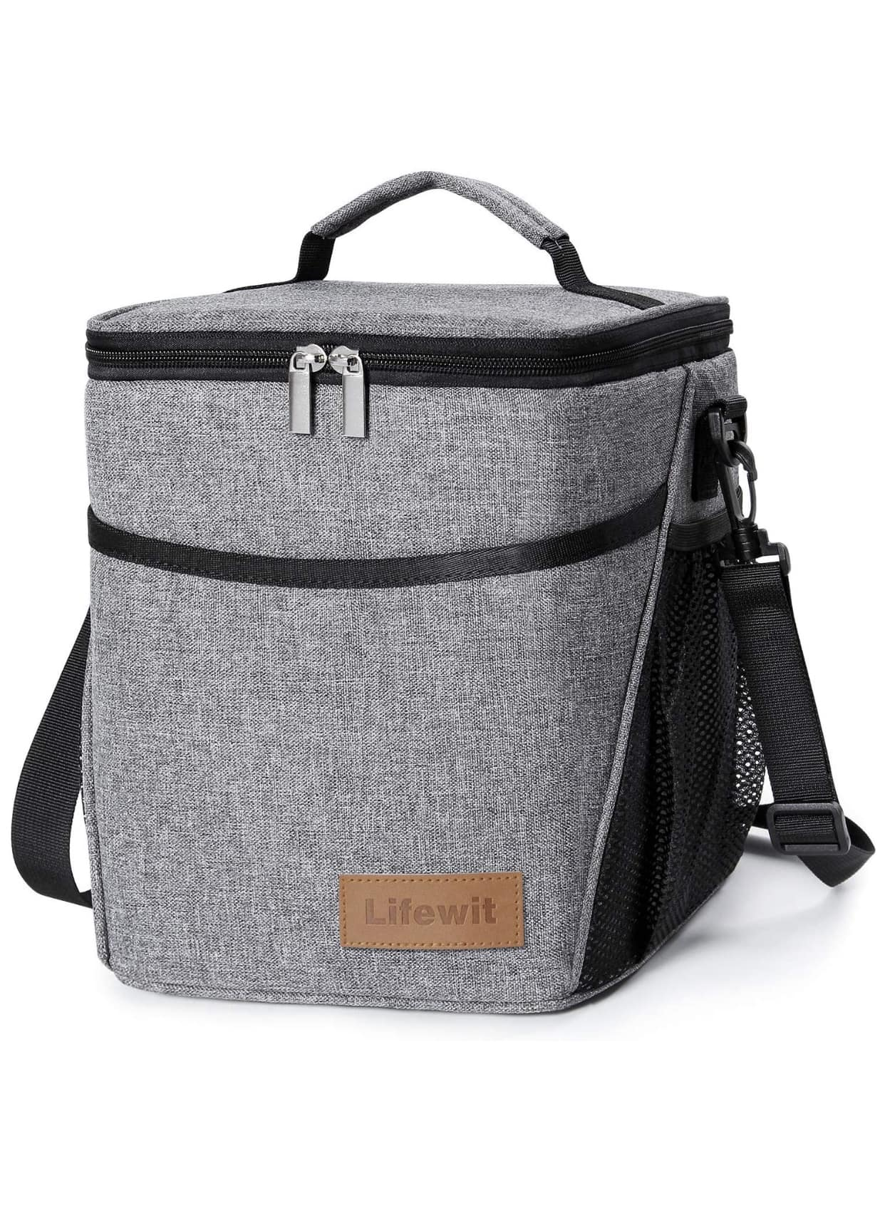 insulated lunch box lunch bag for adults 9l 12 can soft cooler bag water resistant. Black Bedroom Furniture Sets. Home Design Ideas
