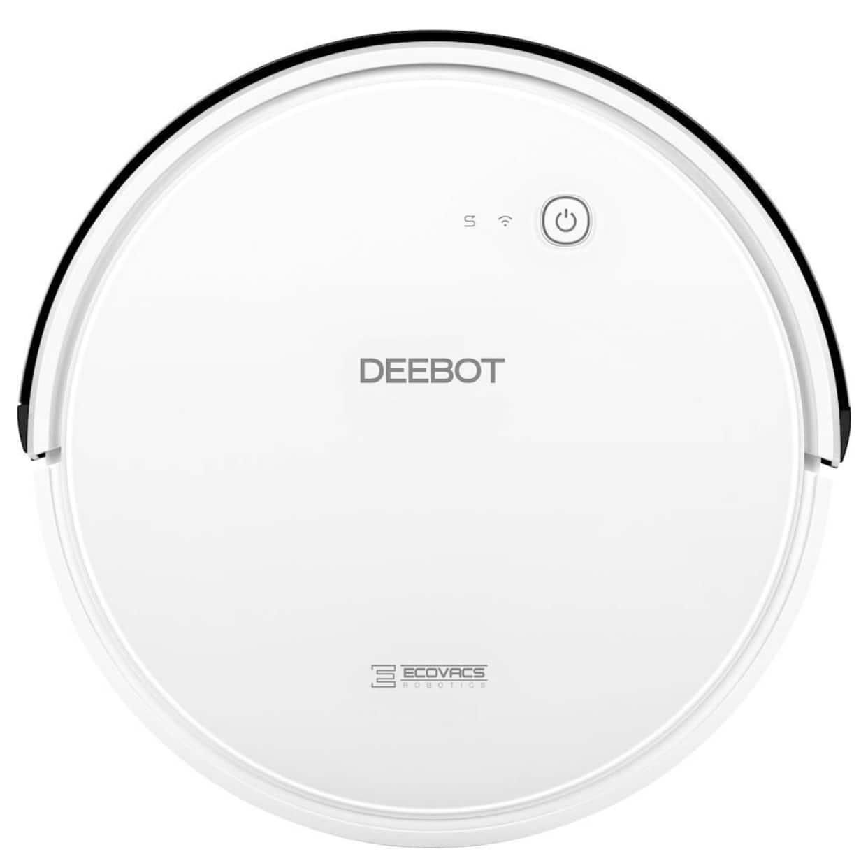 ECOVACS Robotics - DEEBOT 600 App-Controlled Self-Charging Robot Vacuum - White $229.99 @ Best Buy