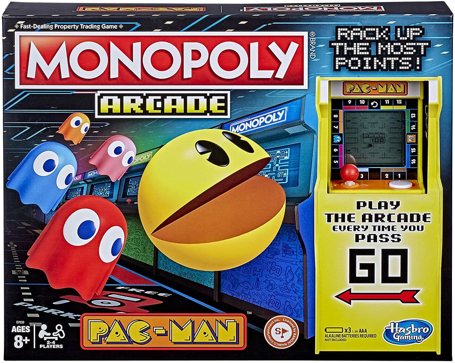 Monopoly Arcade Pac-Man Game Board Game $15 @ Amazon
