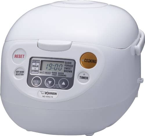 Zojirushi NS-WAC10-WD 5.5-Cup Micom Rice Cooker & Warmer $90 @ Amazon