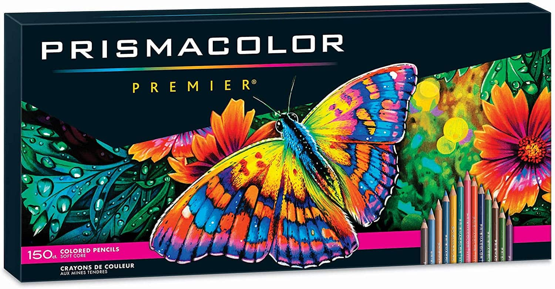 150 Count Prismacolor Premier SoftCore colored pencils $70.82