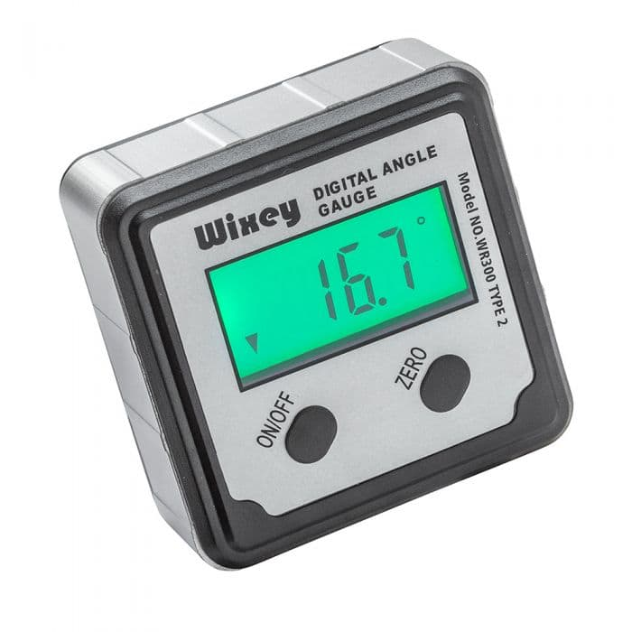 Wixey Digital Angle Gauge with Backlight - $19.99 + Tax