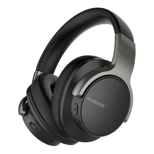 AUSDOM ANC8 Active Noise Cancelling Wireless Bluetooth Over ear Headphones with hifi/carry case/20 hours play time/$39.99 + Free Shipping