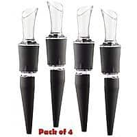 Amazon Deal: AeraWine Infusion Spirit and Wine Aerator 4 Pack Just 24.29