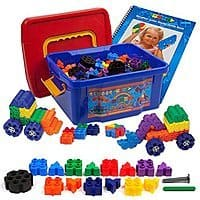 Amazon Deal: Morphun Juniors Starter Rainbow 400 Piece Construction Mega Pack w/ Guide Book just $54.95