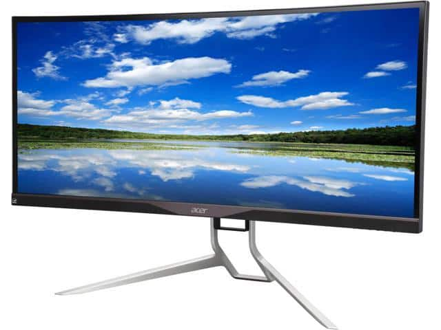 "Acer XR341CK bmijpphz Black 34"", 21:9 WQHD Curved , 3440 x 1440 LED IPS Monitor for $439.99 w/ free shipping"