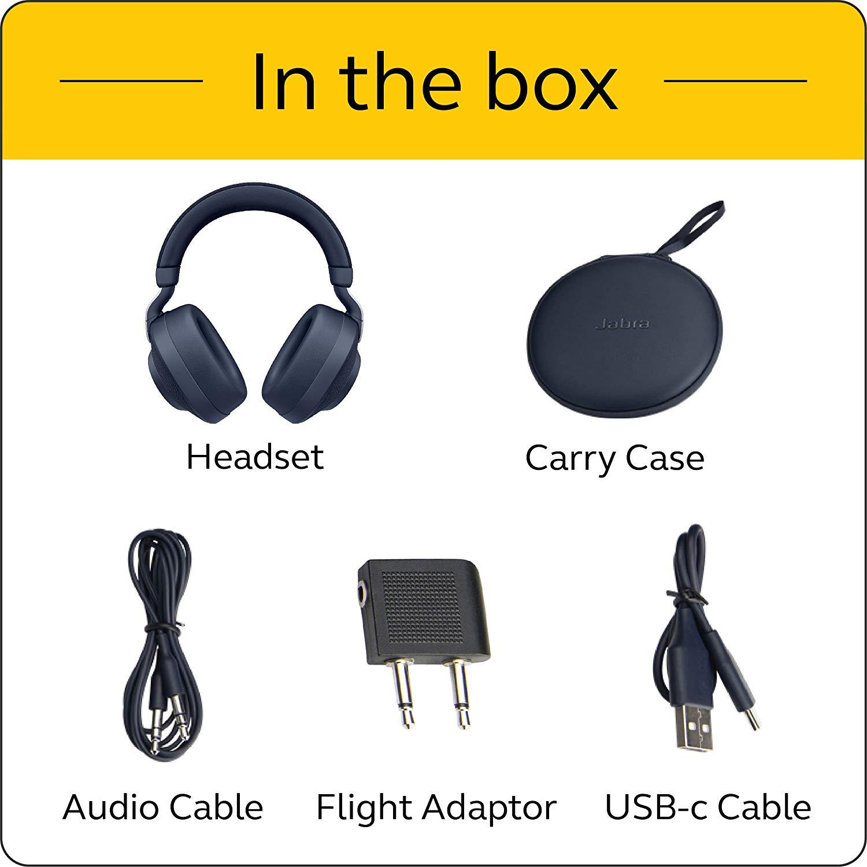 Jabra Elite 85h Wireless Noise Canceling Headphones - with Amazon Prime Card +FSSS $159.99