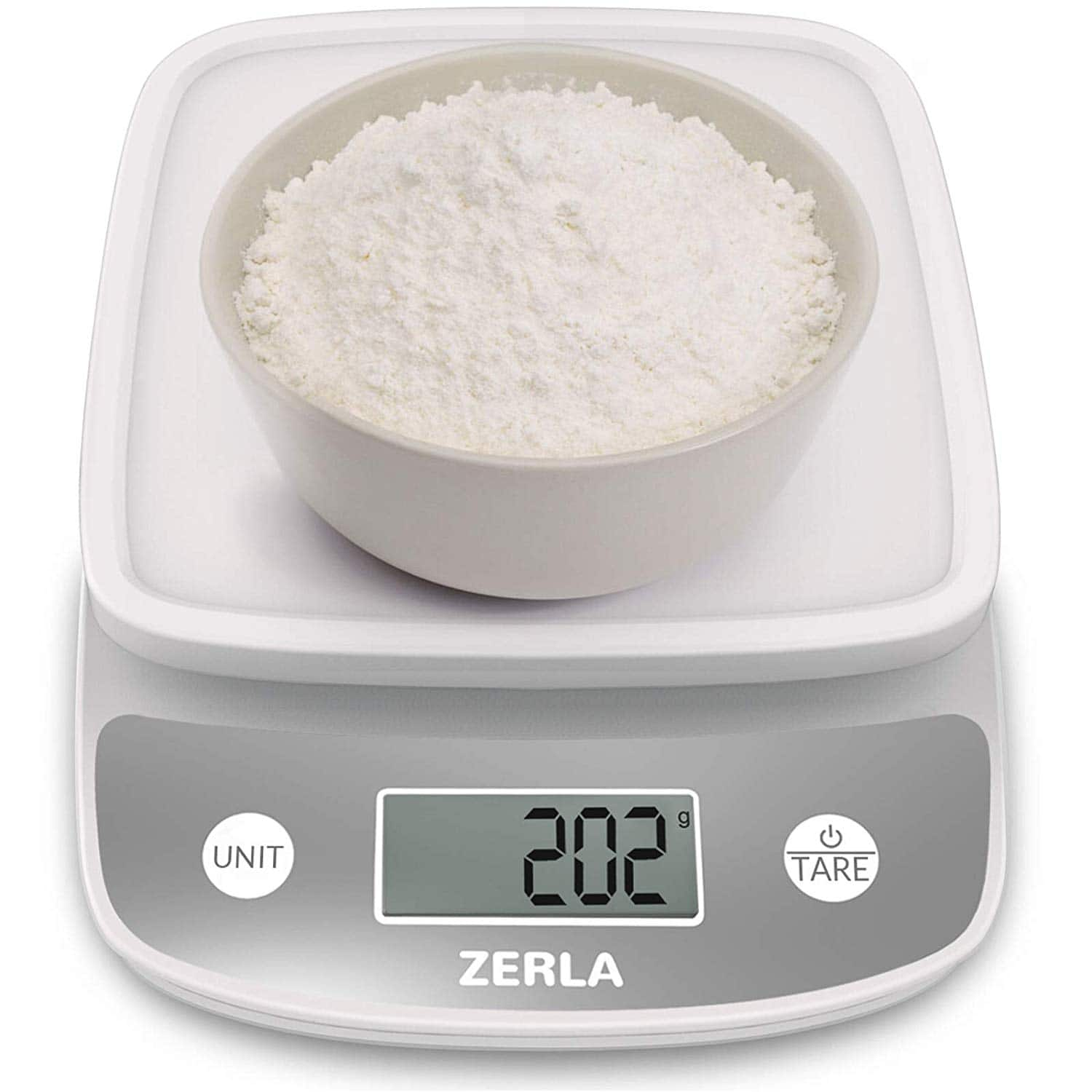 Digital Kitchen Scale by Zerla Food Scale Weigh Snacks, Liquids, Foods — Accurate Weight Scale within .05 oz. up to 11 lbs $8.39