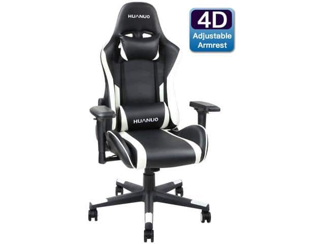 HUANUO Racing Style Computer Gaming Chair $98.99