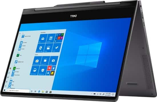 "Dell - Inspiron 13.3"" 7000 2-in-1 4K Ultra HD Touch-Screen Laptop - Intel Core i7 - 16GB Memory - 512GB SSD + 32GB Optane - Black $899.99"