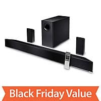 "Sam's Club Deal: $296.88 - S5451W-C2 - VIZIO 5.1 Home Theater Soundbar 54"" w/ Wireless Speakers"