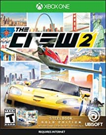 The Crew 2 Gold Edition Steelbook $29.99 (+ tax/shipping if applicable) - Amazon.com