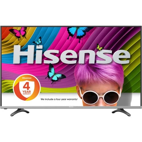 50'' Hisense H8C 4K TV - $418.86 After tax (for some states)