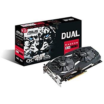 ASUS Radeon RX 580 OC 4GB $250@Amazon.com