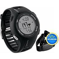 Walmart Deal: Garmin Refurbished Forerunner 210HRM GPS Fitness Watch with Heart Rate Monitor $84.88 with free shipping