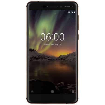 *Back in stock* Nokia 6 (2018) TA-1045 32GB GSM Unlocked Phone (US version w/ warranty) - Black $274.61