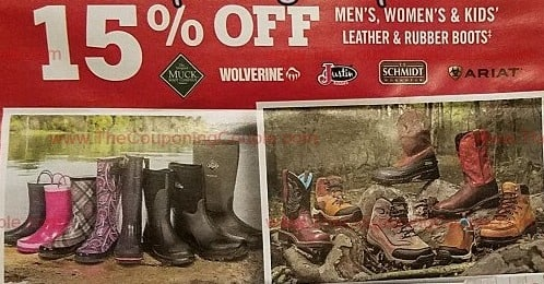 d06a5c982e9 Tractor Supply Co Black Friday: Men's Leather & Rubber Boots, Select ...
