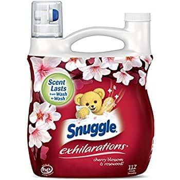 DEAD ALREADY--96oz. Snuggle Exhilarations Liquid Fabric Softener (Cherry Blossom & Rosewood) $6.62 or less w/subscribe & save @Amazon