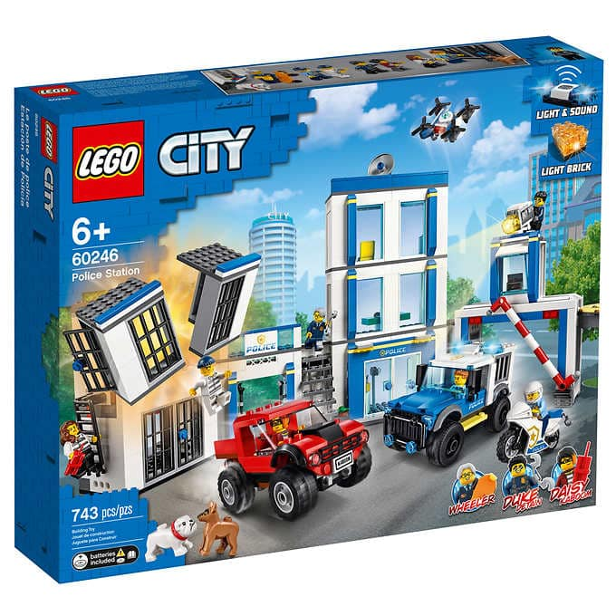 Costco Members: LEGO City Police Station (60246) $69.97