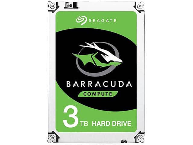 "Seagate BarraCuda 3TB 64MB Cache SATA 7200RPM 6.0Gb/s 3.5"" HDD was $89.49 now $66.99 (Free Shipping)"