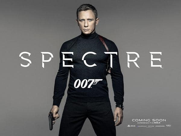 Free Screening of SPECTRE for AMEX Cardholders (Dallas, Vegas, Miami, Seattle & San Fran ONLY)
