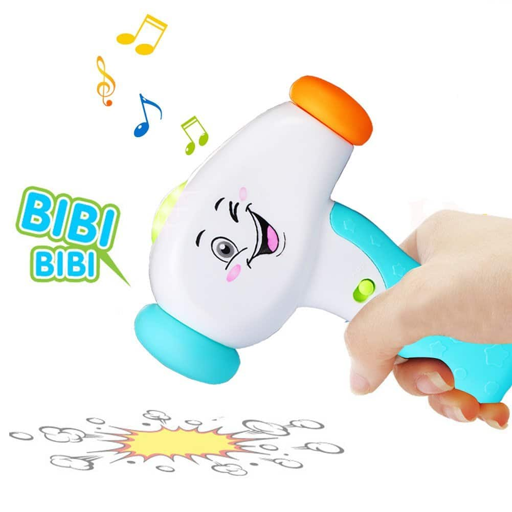 KAWO Interactive Musical Sound Effect Hammer Toy